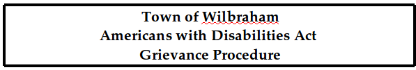Americans with Disabilities Act Grievance Procedure (PDF)