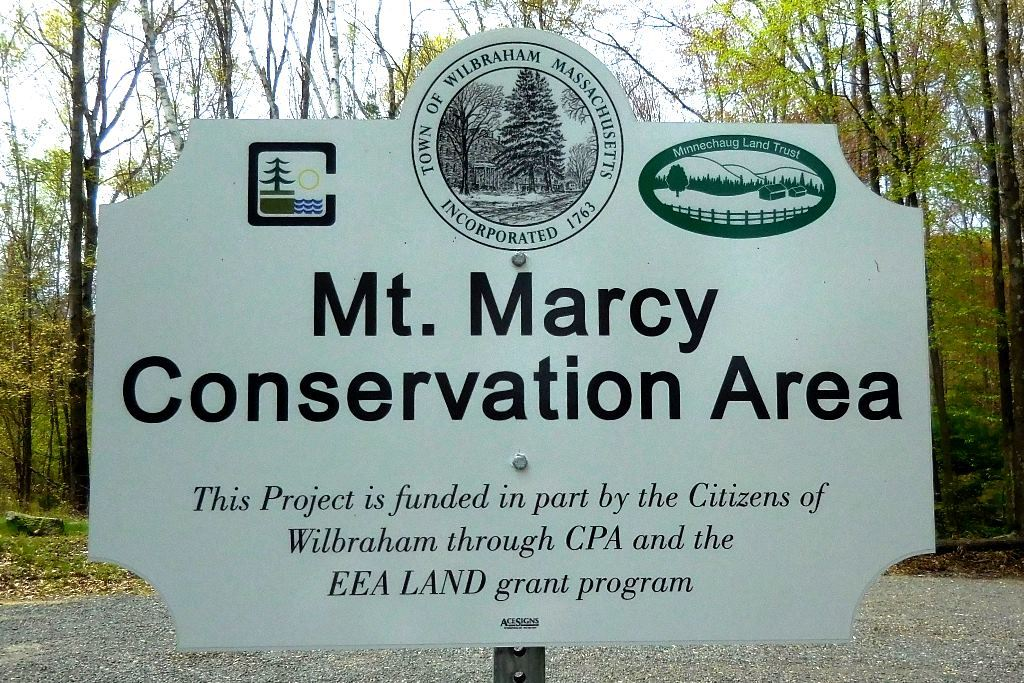 marcy trail sign 1