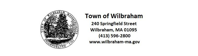 Town of Wilbraham Seal and Address